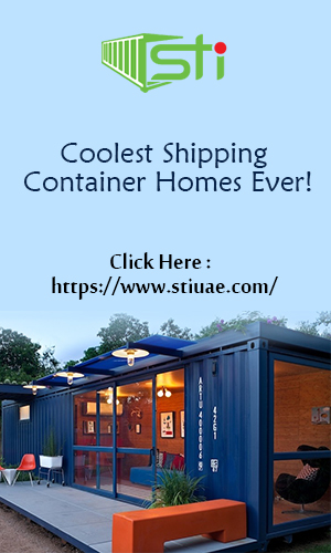 A shipping container converted into one of the beautifully designed coolest homes.